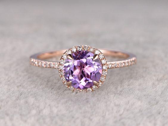 8 Gemstone Engagement Rings We Love