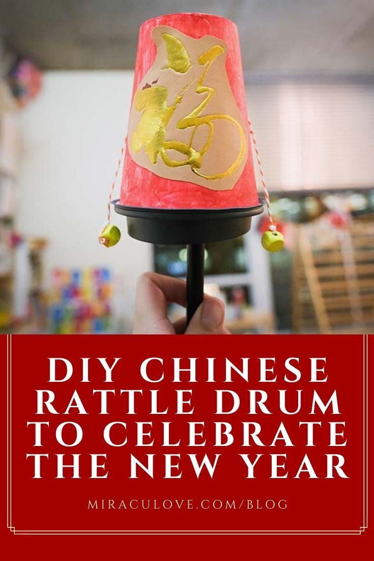DIY Chinese Rattle Drum to Celebrate the New Year