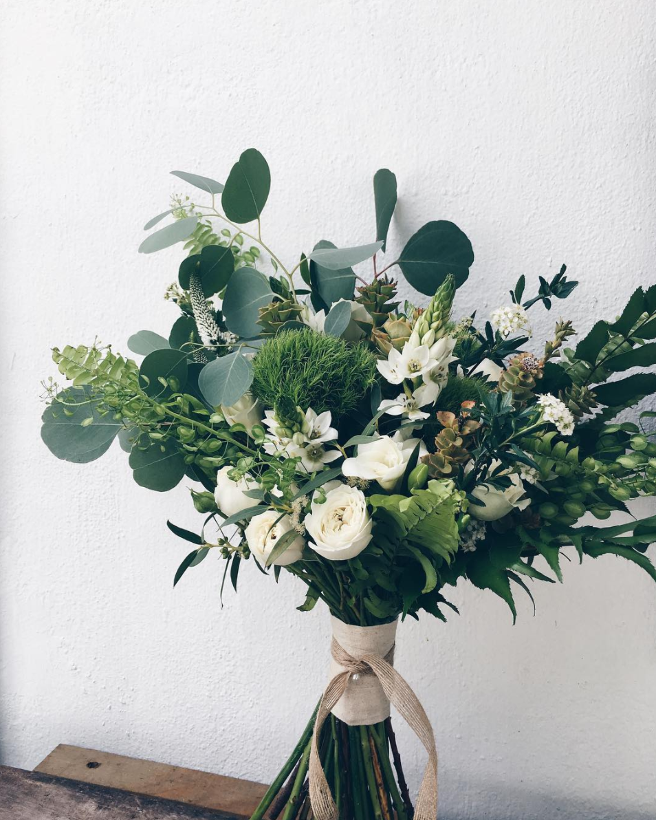 5 greenery inspired bridal hand bouquets we love by talented 3 bloom room izmirmasajfo