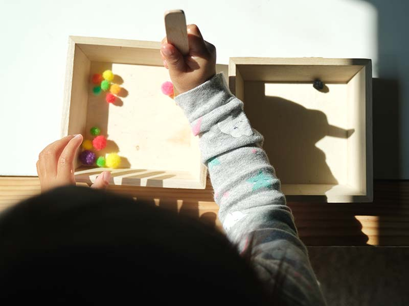 10+ Montessori Inspired Toddler Tray Activities at 26 Months