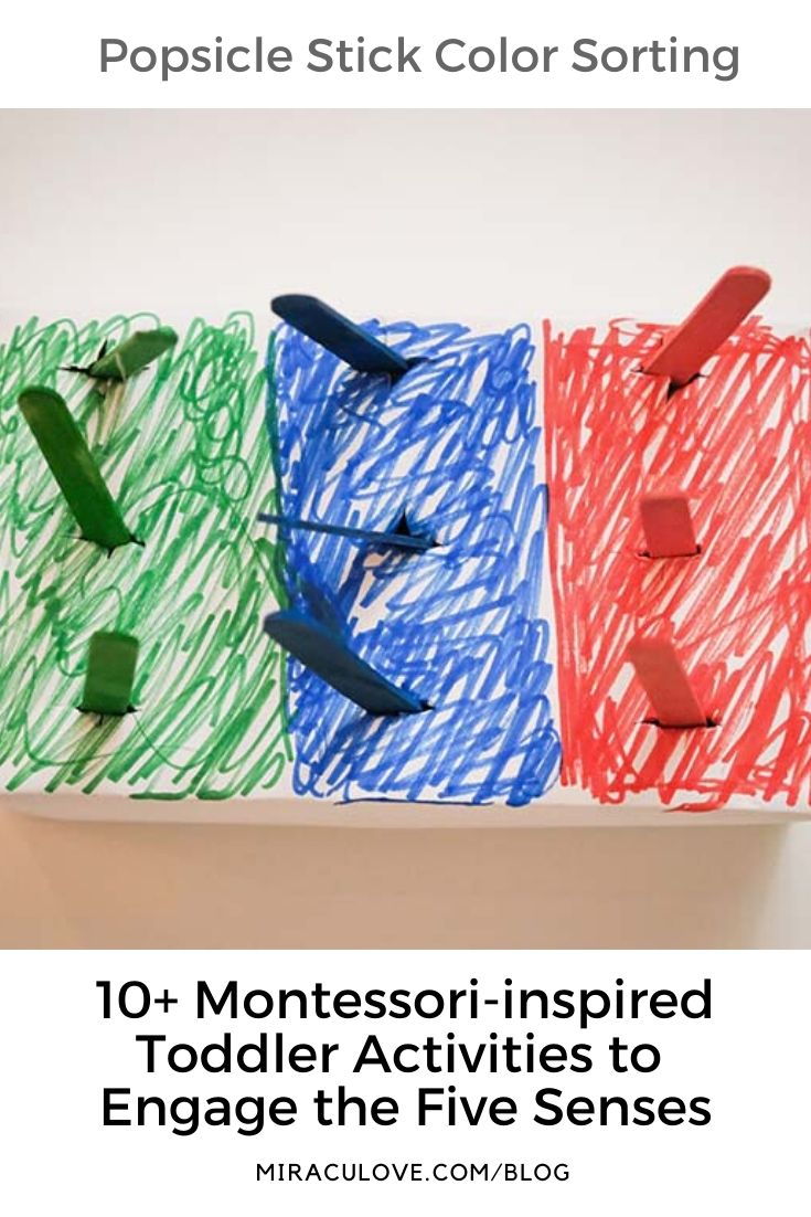 10+ Montessori-inspired Toddler Activities to Engage the Five Senses