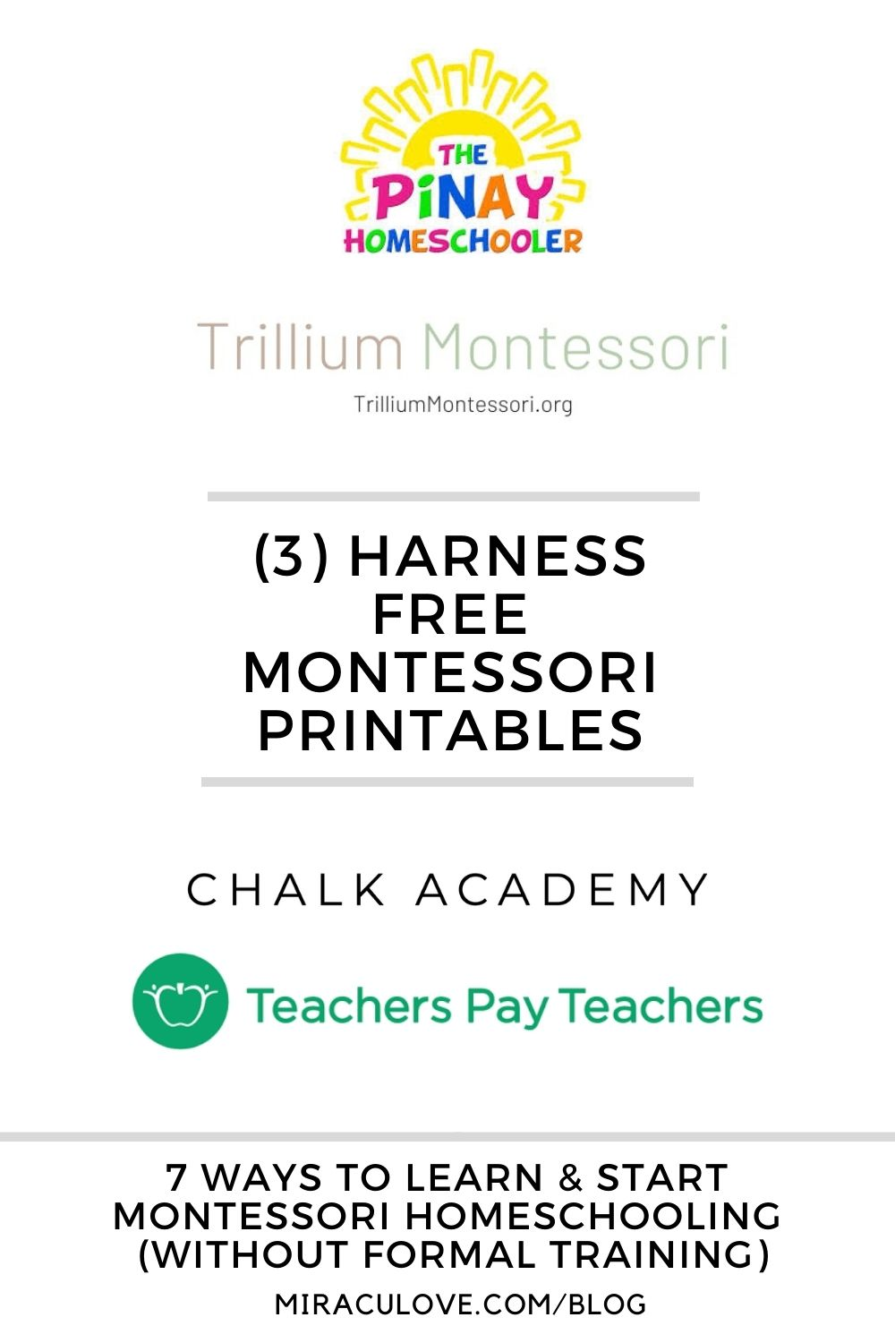 7 Ways to Learn & Start Montessori Homeschooling Without Formal Training