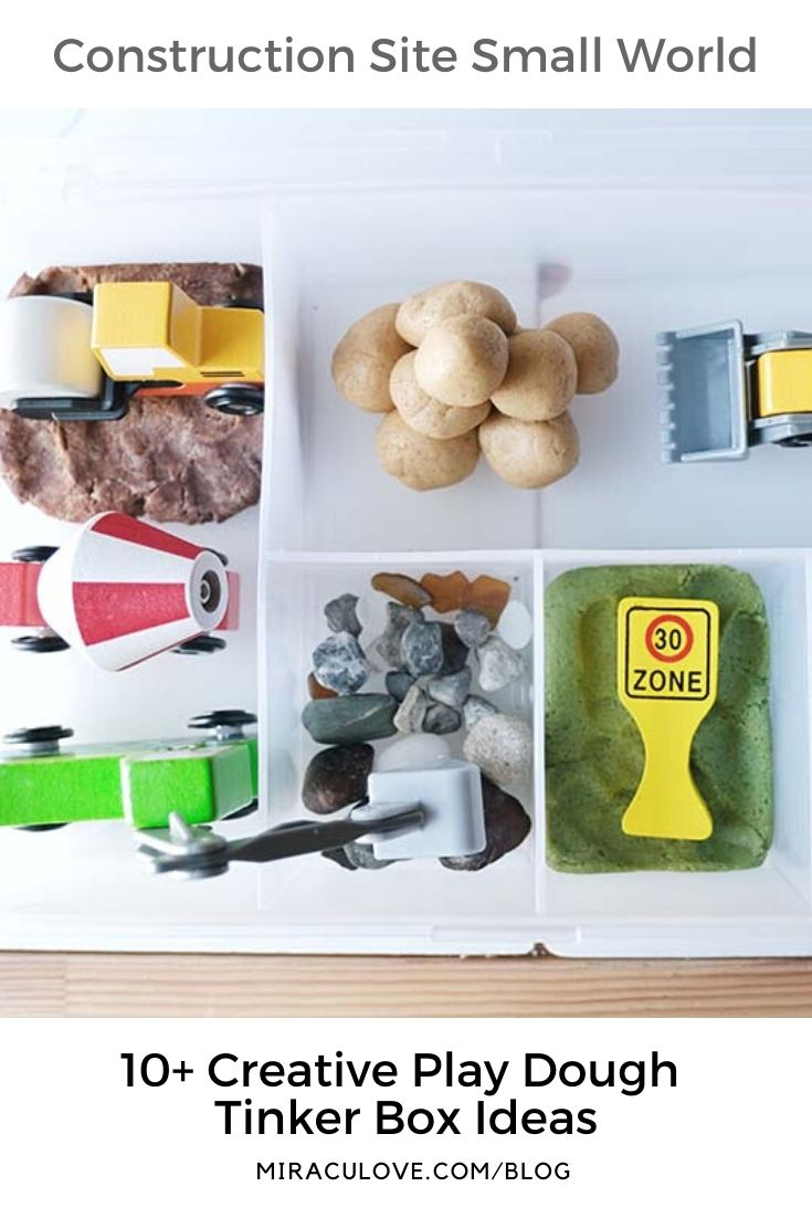 10+ Open-ended Play Dough Tinker Box Ideas