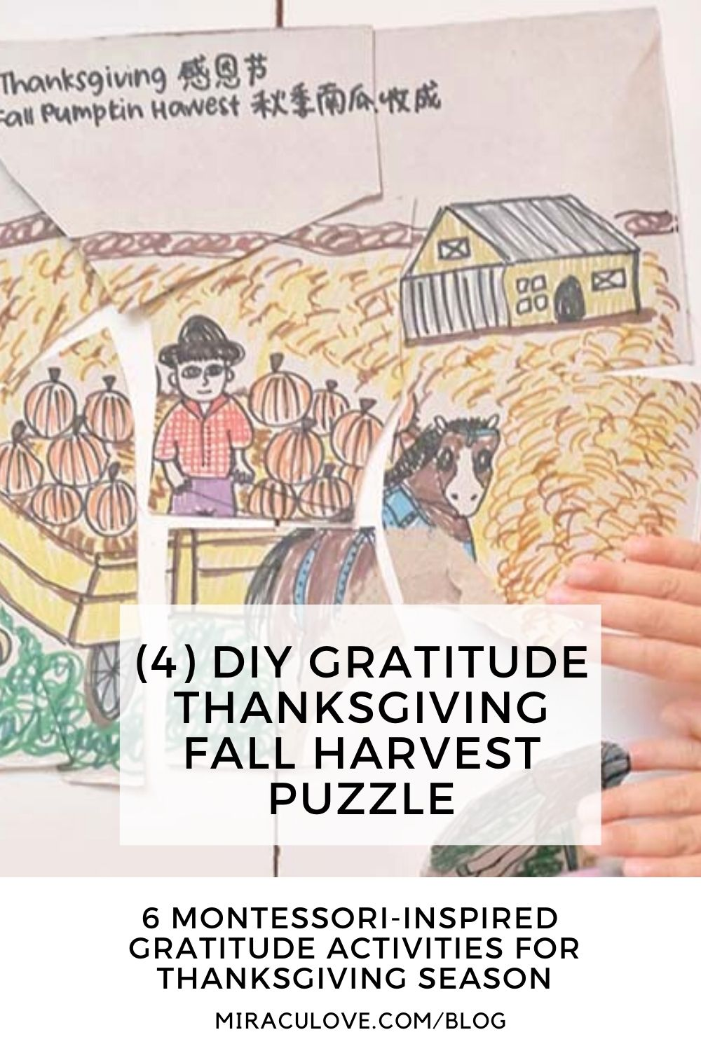 6 Thanksgiving Gratitude Activities for Toddlers to Learn Kindness & Grace