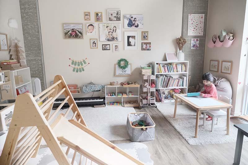 How I Montessori My Small 500 sqft Apartment to be Child Friendly