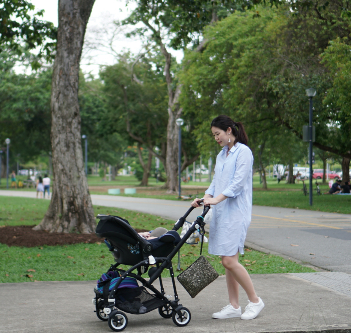 WFHM stroll neighbourhood Singapore baby activity