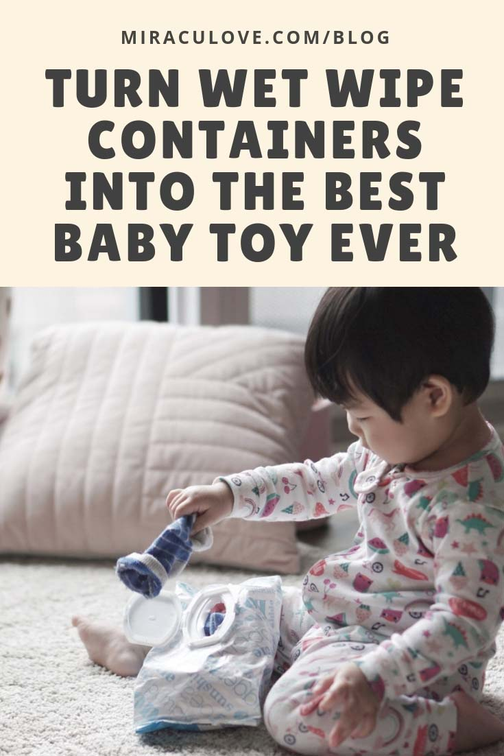 Best Baby Toy: A DIY Fill and Pull Box