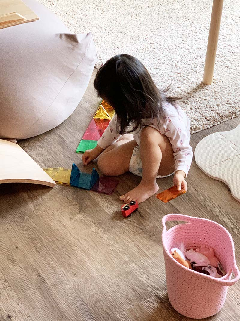 Practical Life Activities in a Toddler Day's Work