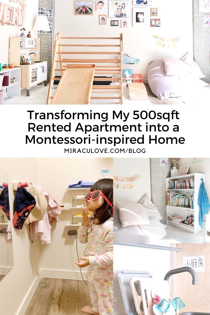 Transforming My 500sqft Rented Apartment into a Montessori-inspired Home