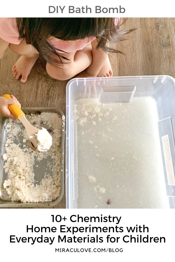 DIY Bath Bomb for Toddlers
