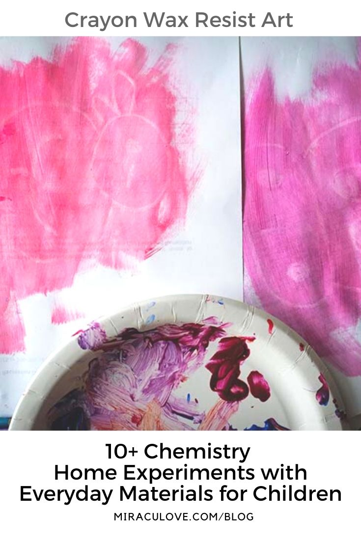 Crayon Wax Resist Art