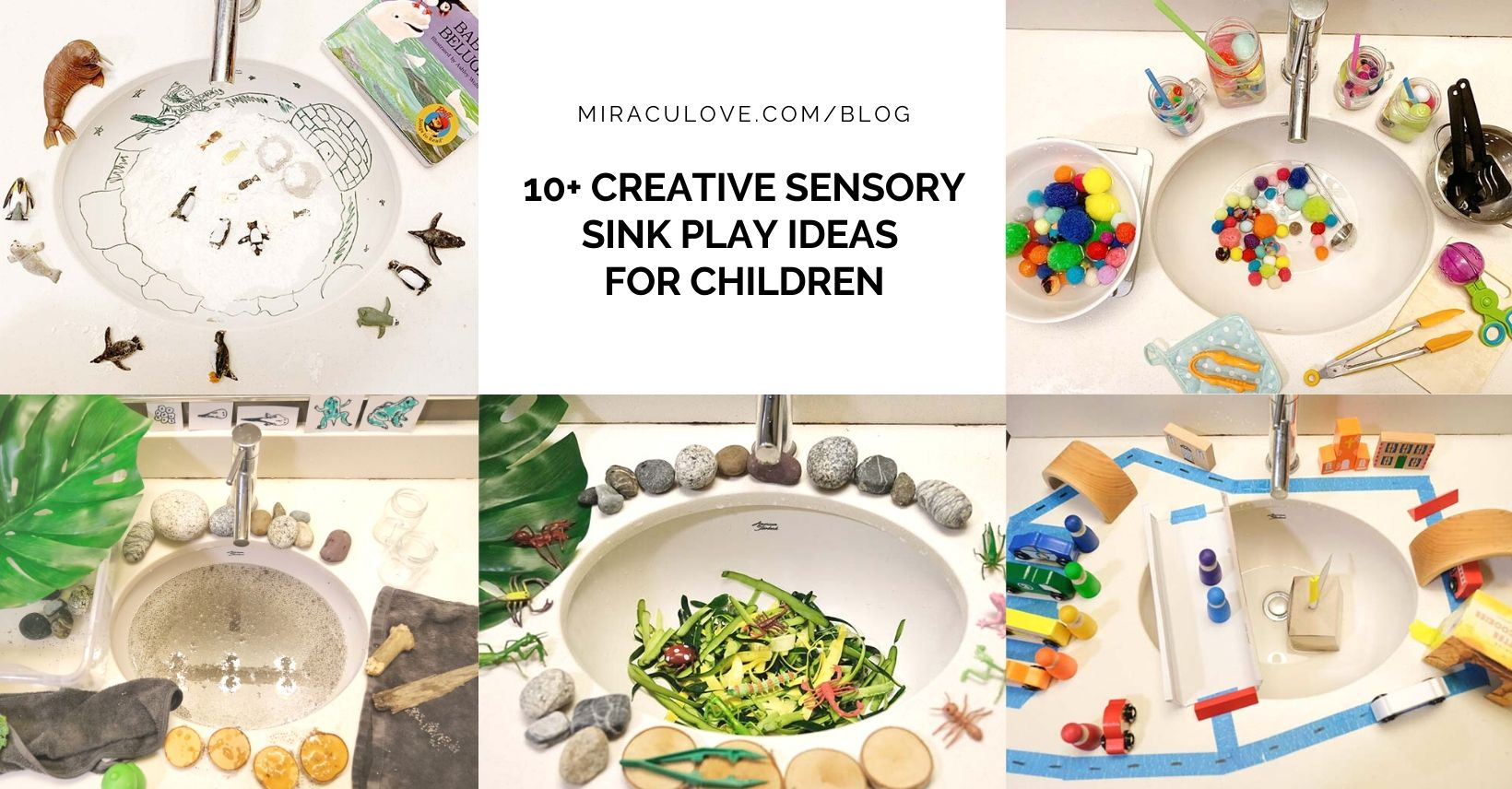 10+ Creative Sensory Sink Play Ideas for Children