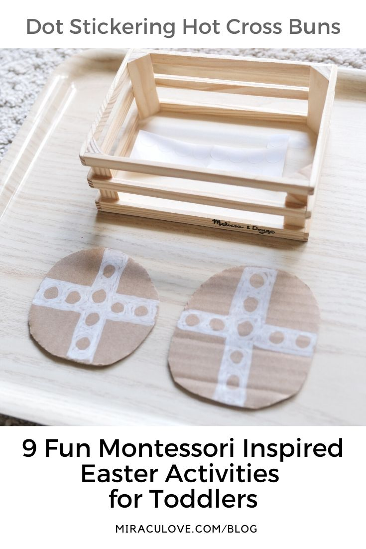 9 Fun Montessori Inspired Easter Activities for Toddlers
