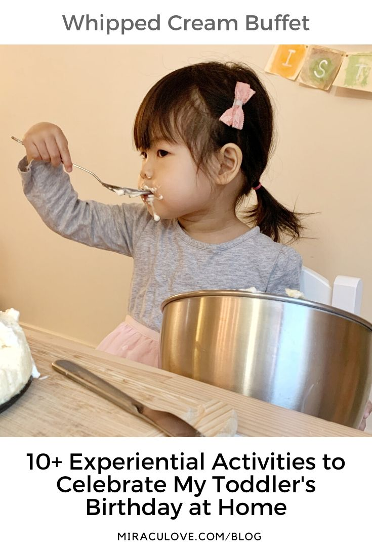 10+ Wonderful Ideas for a Toddler Birthday Celebration During Quarantine