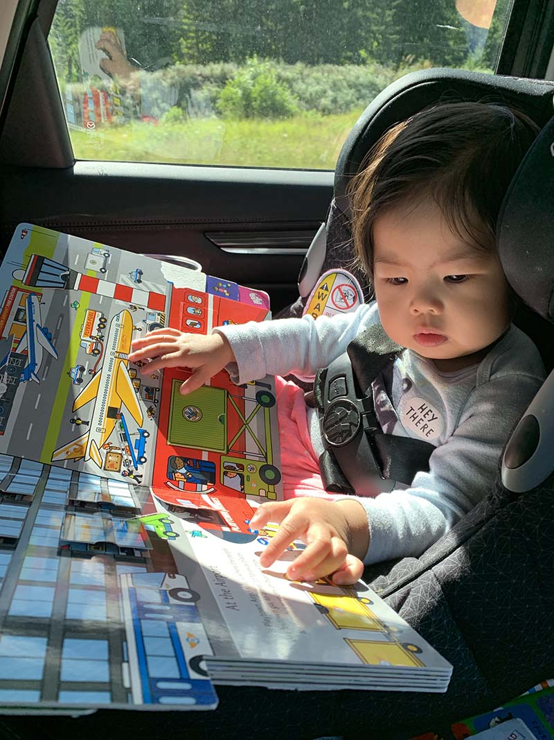 12 Sanity Saving Toddler Activities for Long Car Rides Without Screens