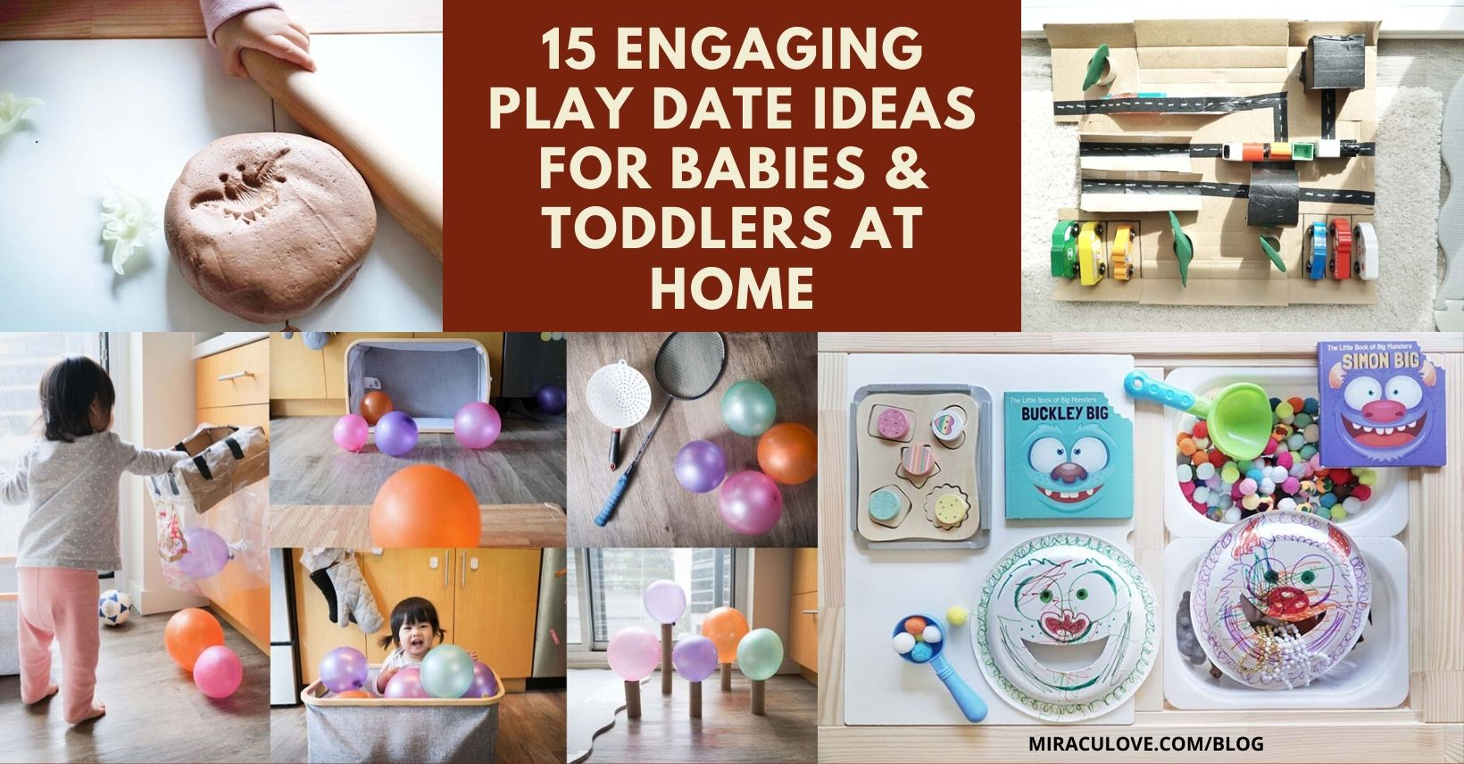 15 Engaging Play Date Ideas for Babies & Toddlers At Home