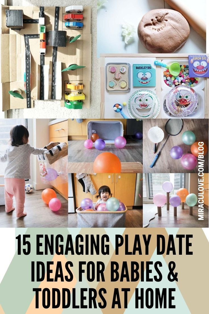 >15 Engaging Play Date Ideas for Babies & Toddlers At Home!