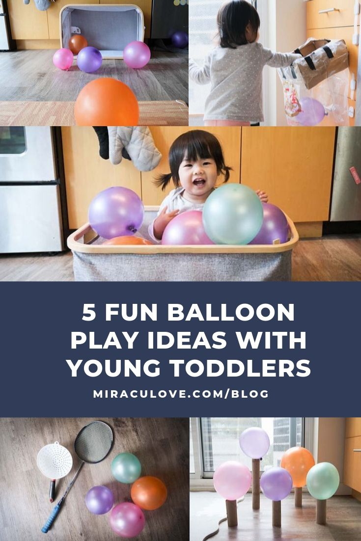 5 Best Balloon Play Ideas with Young Toddlers