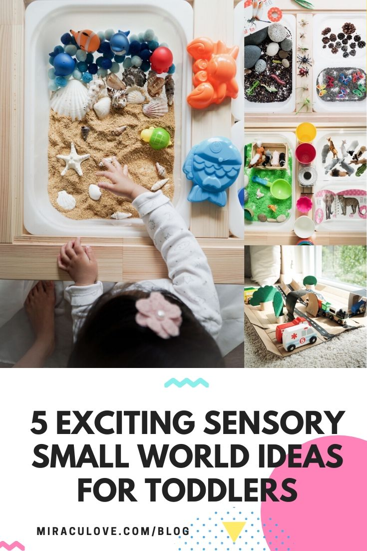 5 Exciting Sensory Small World Ideas for Toddlers