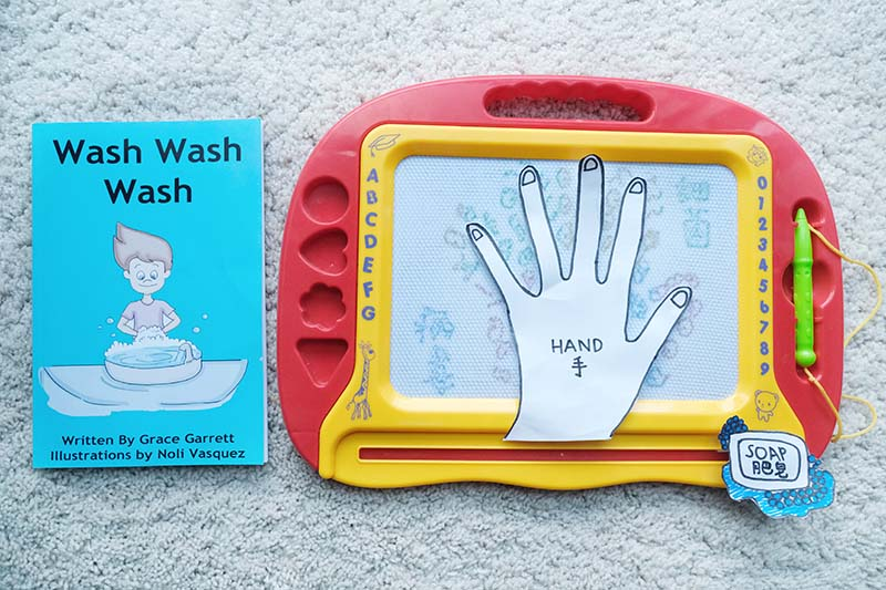5 Montessori Inspired Germ and Hygiene Toddler Learning Activities