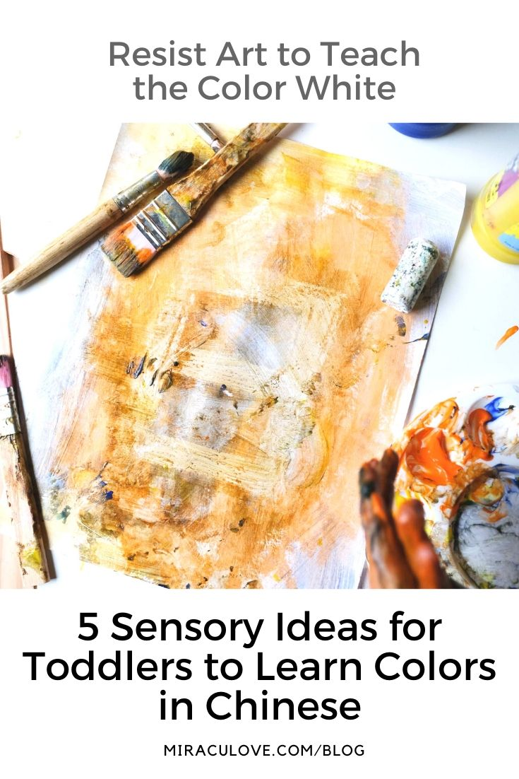 5 Sensory Ideas for Toddlers to Learn Colors in Chinese