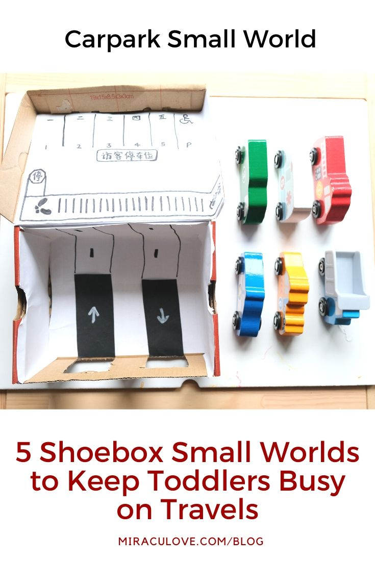 5 Shoebox Small Worlds to Keep Toddlers Busy on Travels