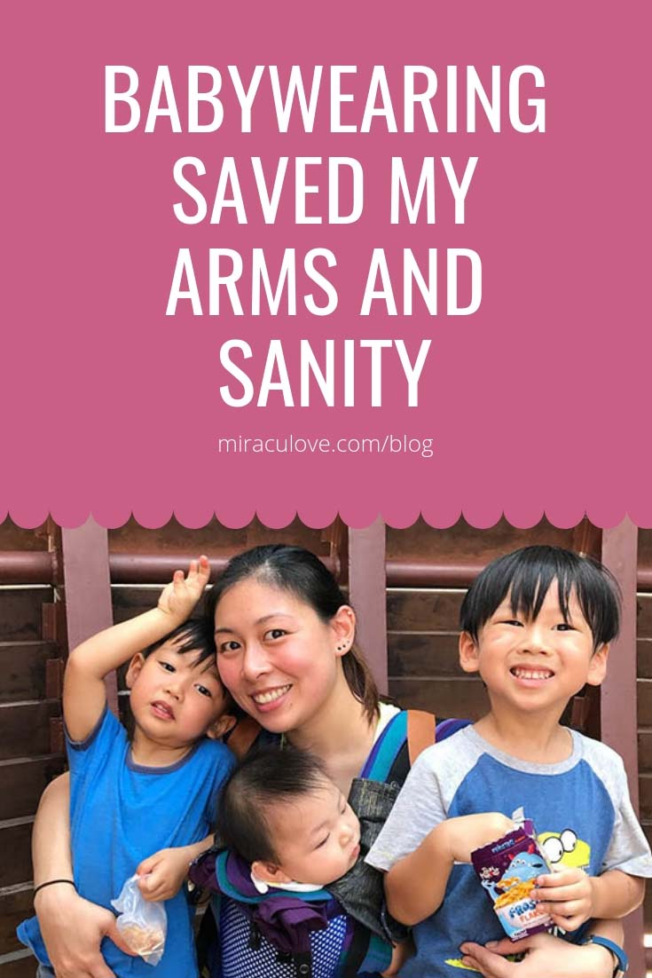 Babywearing Saved My Arms and Sanity