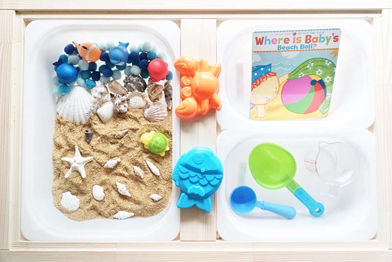 By the Beach Small Sensory World for Toddlers