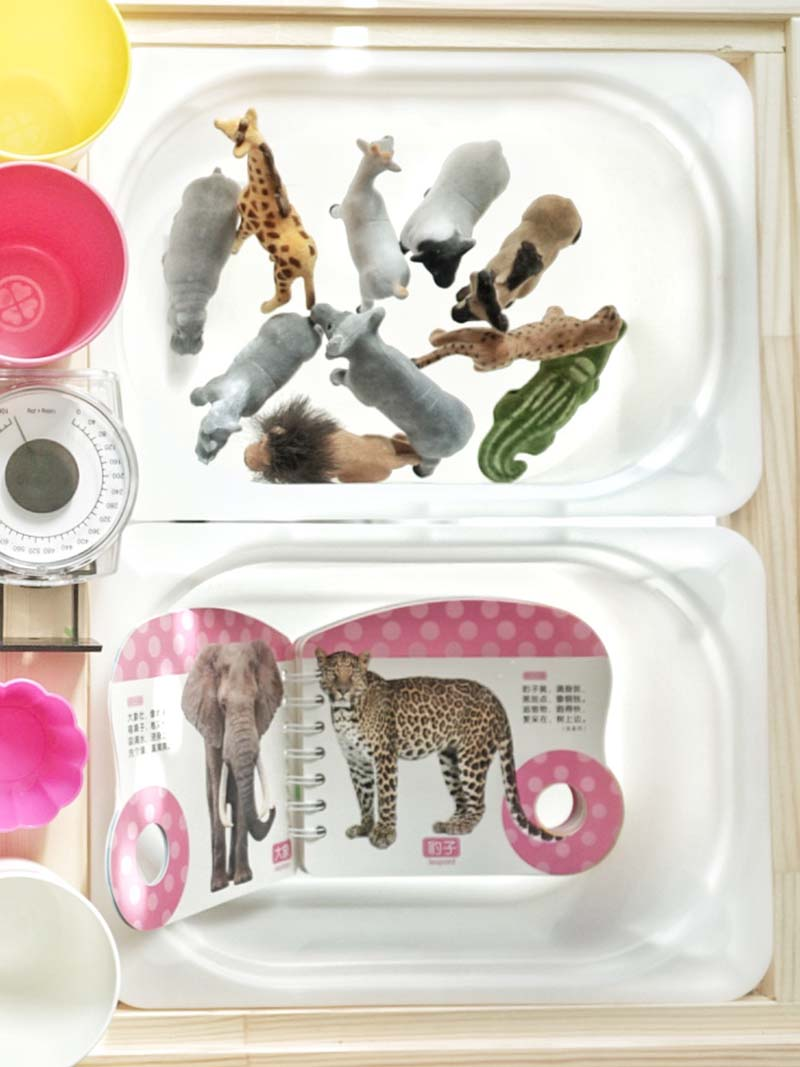 Farm Animal Small Sensory World for Toddlers