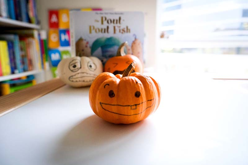 Feeling Pumpkins Emotions Activity for Young Toddler