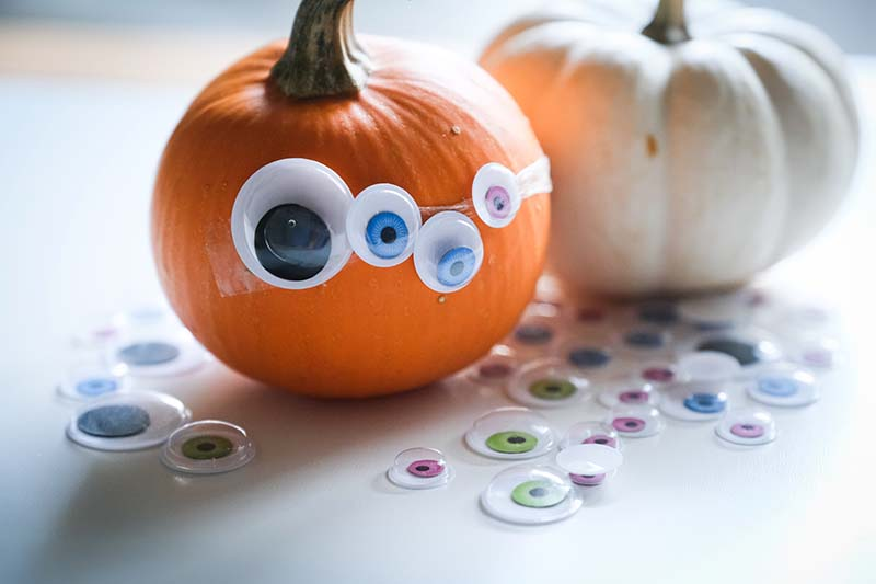 Googly Eyed Pumpkin Monster Halloween Activity