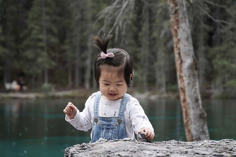 Grassi Lakes Hike with Young Toddler