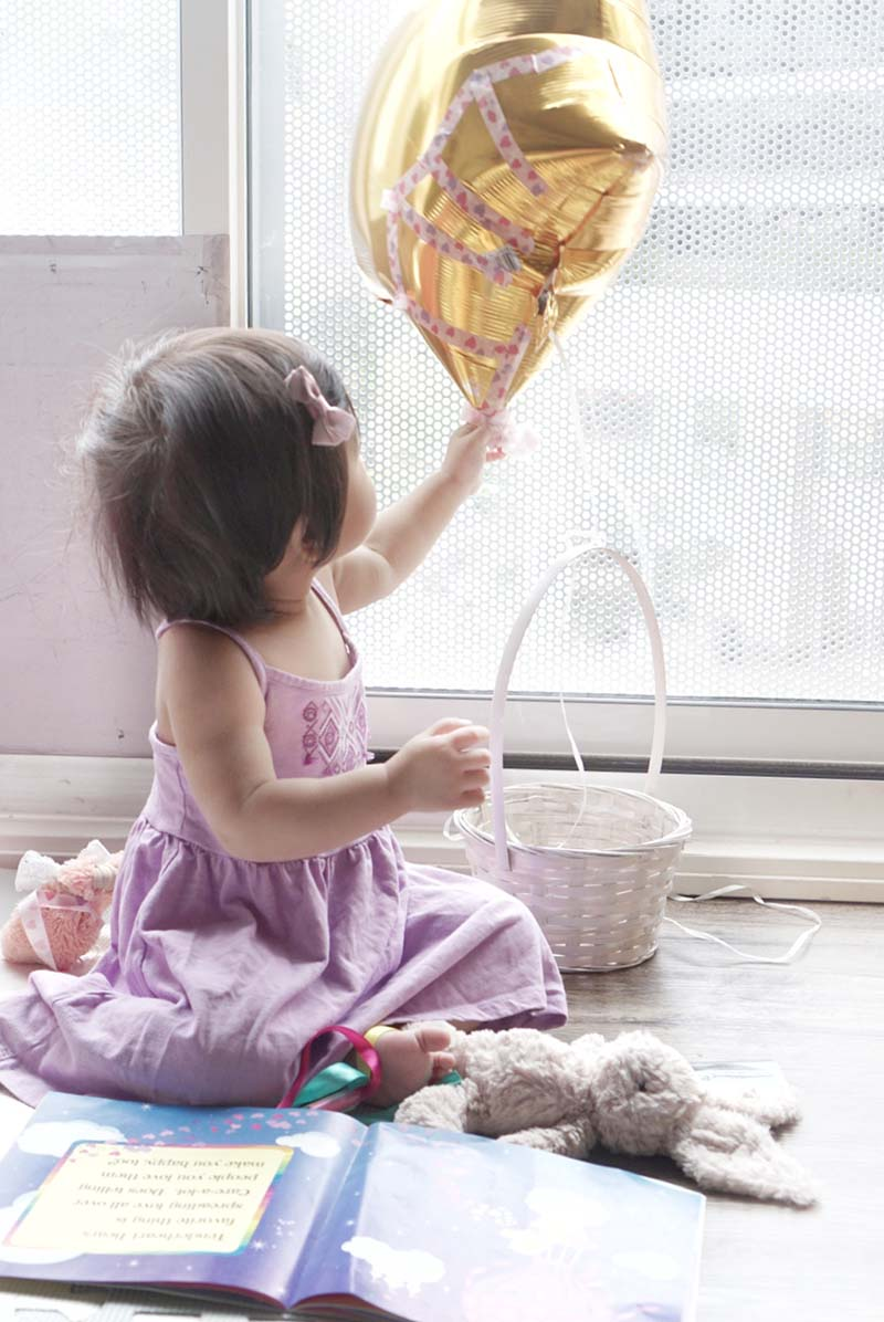 Hot Air Balloon Imaginative Play for Toddlers