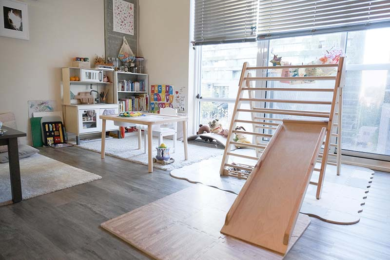 How I Montessori My Small 500 sqft Apartment to be Child Friendly