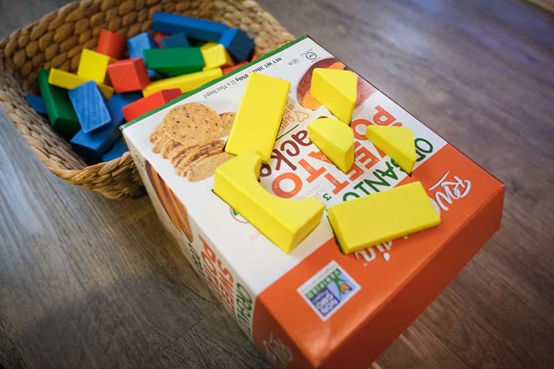 Jack O Lantern Pumpkin Shape Sorter DIY Toddler Toy