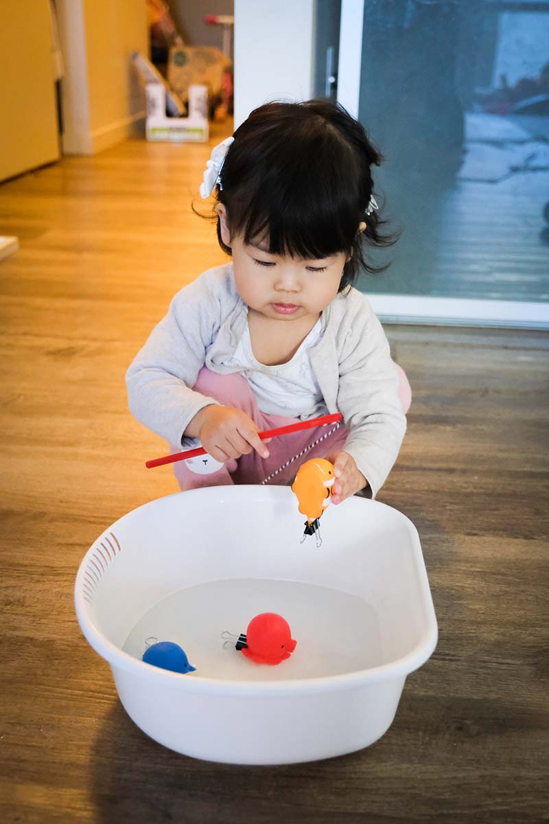 Magnetic Fishing Fine Motor Game for Young Toddlers