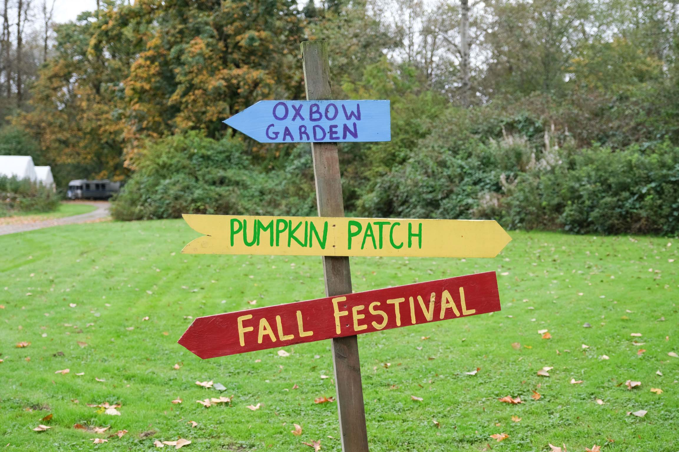 Oxbow Pumpkin Farm & Conservation Center WA Visit with Toddler