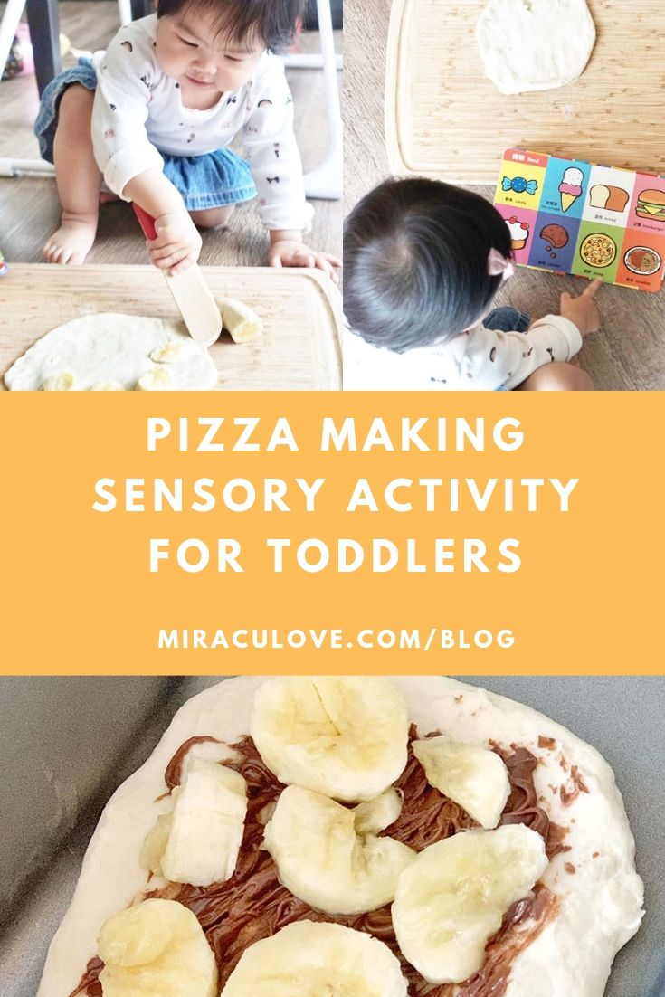 Pizza Making Sensory Activity for Toddlers