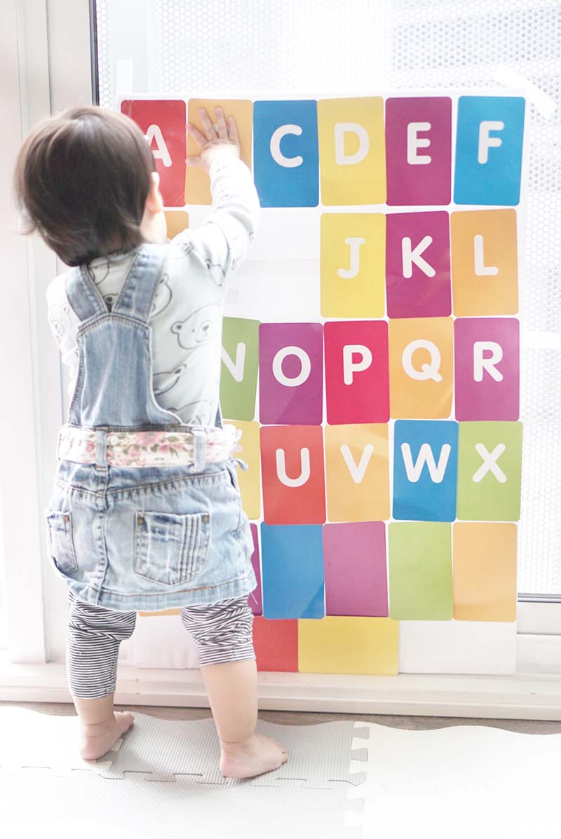 Sensory Velcro Learning Board for Toddlers