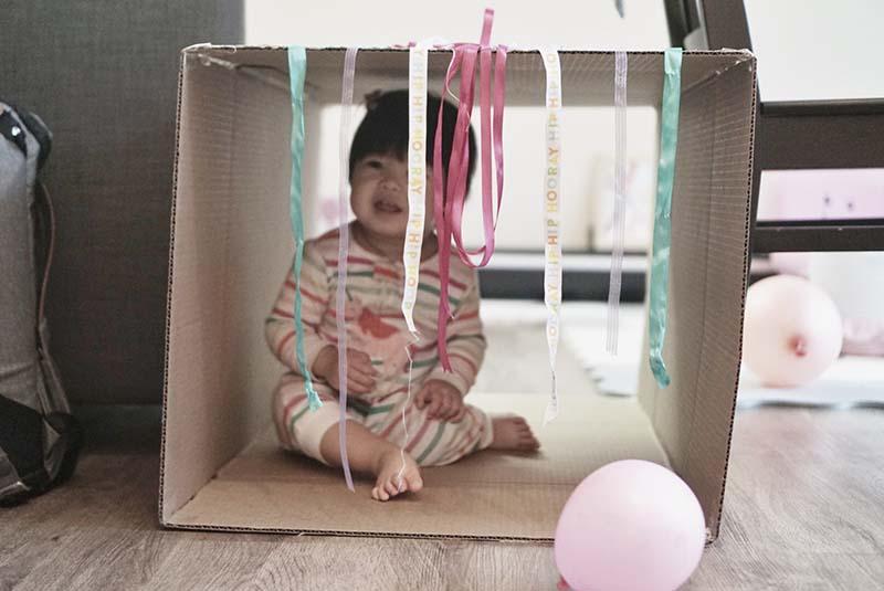 Simple But Fun Cardboard Box Play Tunnel