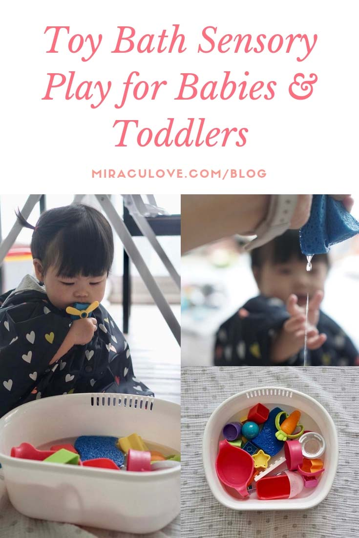 Toy Bath Sensory Play for Babies & Toddlers