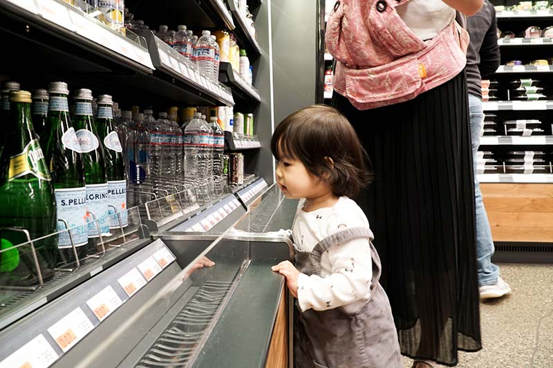 Visiting Amazon Go WA with Young Toddler