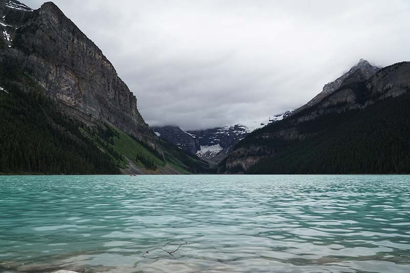 Visiting Lake Louise AB Canada with Young Toddler