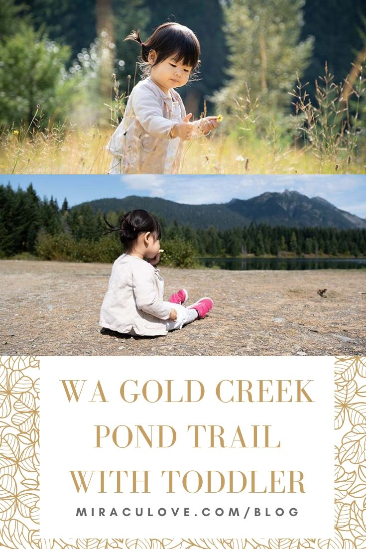 WA Gold Creek Pond Trail with Toddler