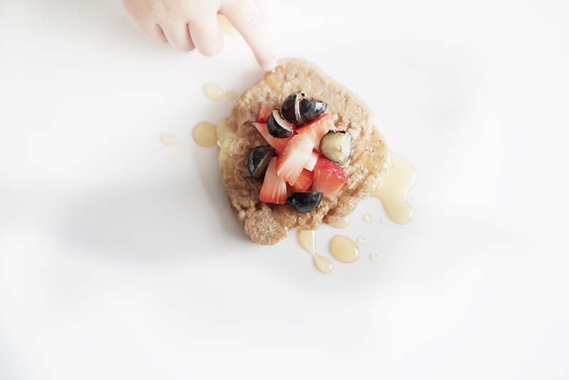 Easy & Healthy Banana Wheat Pancake for Toddlers