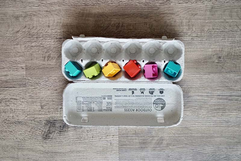 Egg Carton Filling for Older Babies & Young Toddlers