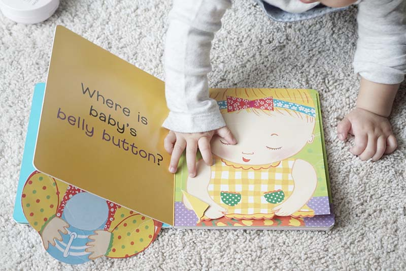 Books My Baby Couldn't Get Enough Of In Her First Year