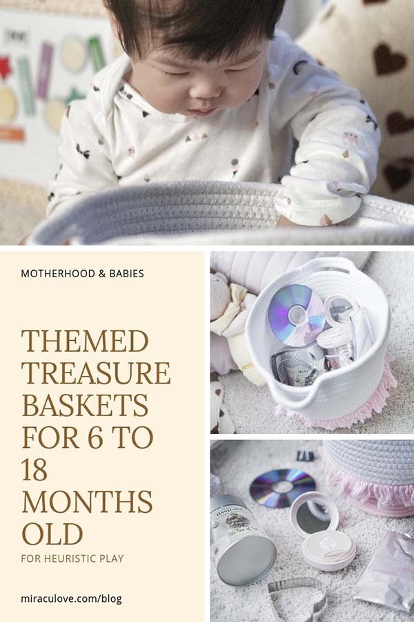 themed treasure baskets baby heuristic play